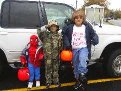 Spidey GI Joe and Napoleon