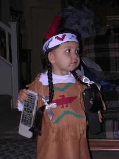 Little Hiawatha Costume