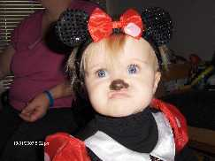 Riley Mouse aka Minnie Mouse