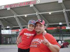 U of L s 1 fans GO CARDS