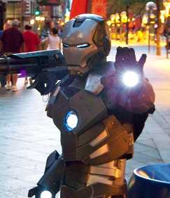 War Machine Replusor blast IronMan 2